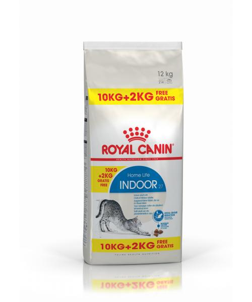 Royal Canin Indoor 10 + 2 kg