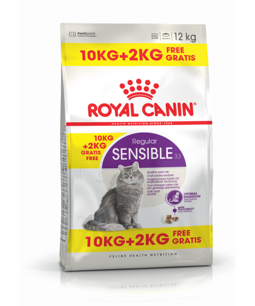 Royal Canin Sensible 10 + 2 kg