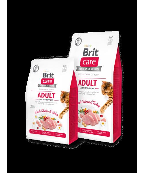 Brit Care Cat GF Adult Activity Support 7 kg