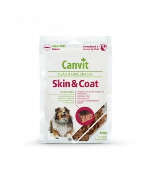 Canvit skanėstas šunims Skin&Coat 200g