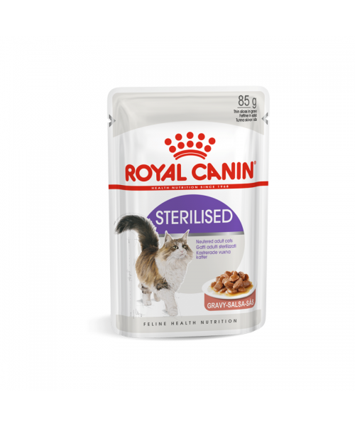 Royal Canin Sterilised konservas padaže 85 g