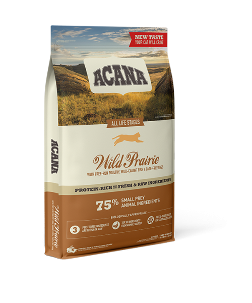 ACANA Wild Prairie Cat 1.8 kg ( nauja sudėtis )