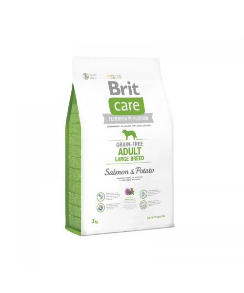 Brit Care Grain - free Adult Large Breed Salmon & Potato 3 kg