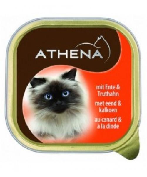 ATHENA Kačių Konservai Su Antiena Ir Kalakutiena 100g