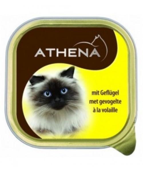 ATHENA Kačių Konservai Su Paukštiena 100g