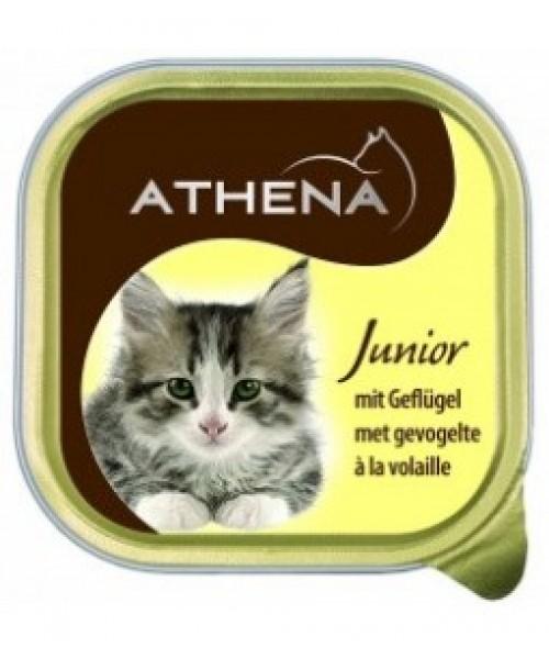 ATHENA Kačiukų Konservai Su Vištiena JUNIOR 100 G