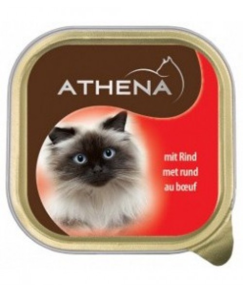 Athena Paštetas Katėms Su Jautiena 100g