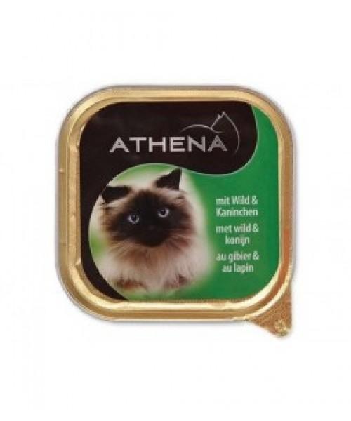 Athena Paštetas Su Žvėriena Ir Triušiena 100g