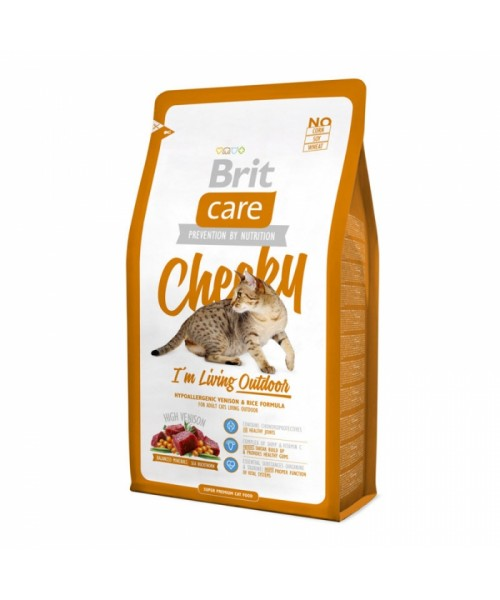 Brit Care Cat Cheeky Outdoor 7 kg