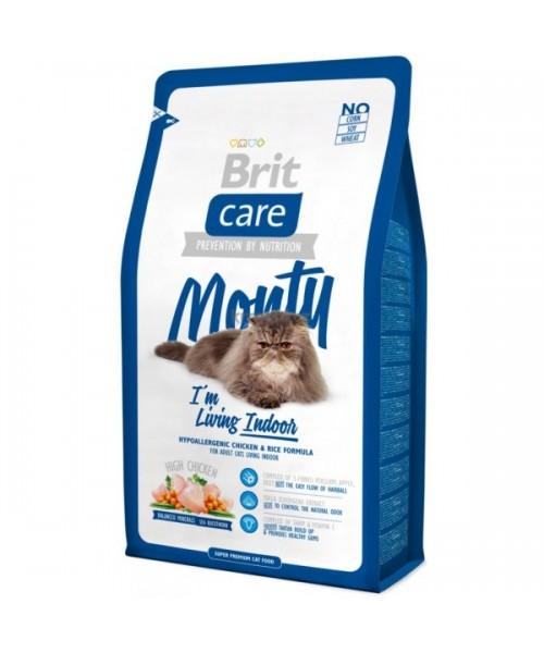 Brit Care Cat Monty Indoor 7 kg