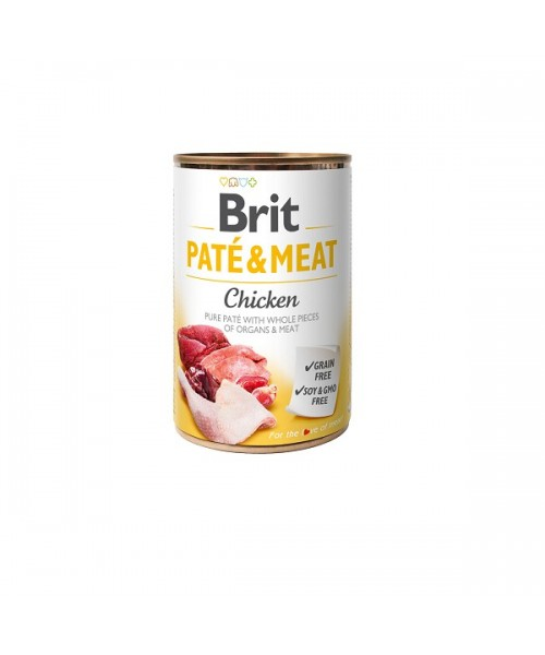 BRIT CARE Chicken Pate & Meat 400g