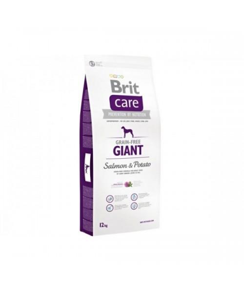 Brit Care Grain-free adult Giant Salmon & Potato 12 kg