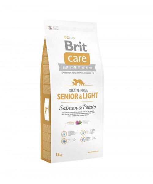 Brit Care Grain-free Senior Salmon & Potato 12 kg