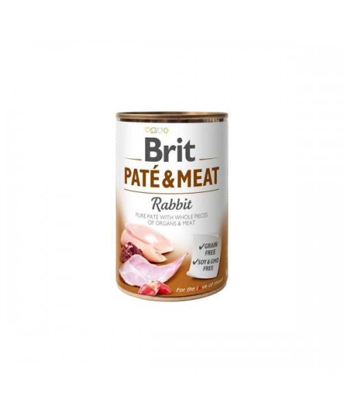 BRIT CARE Rabbit Pate & Meat  400 g