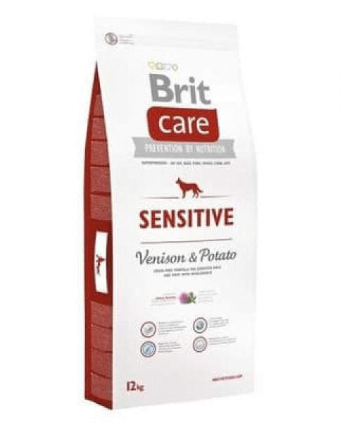 Brit Care Sensitive Venison&Potato 12 kg