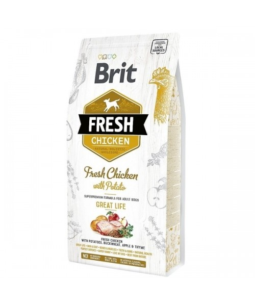 Brit Fresh Chicken with Potato Adult 12kg