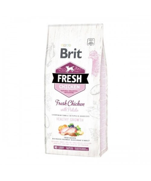 Brit Fresh Chicken with Potato Puppy 12kg