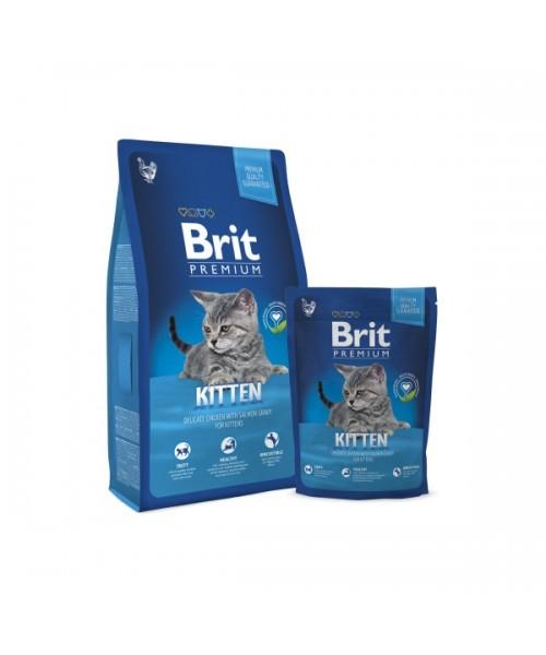 BRIT Premium Cat Kitten (Atnaujinta formulė) 8 kg