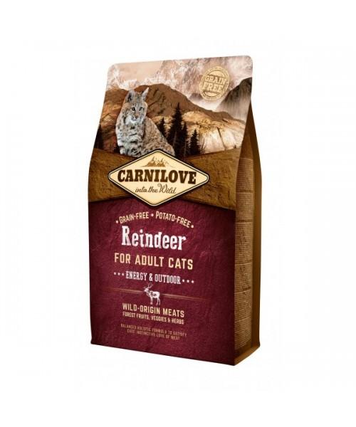 Carni Love Reindeer Adult Cat Energy&Outdoor 6 kg