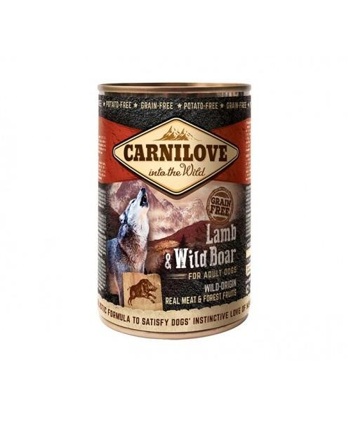 Carni Love Wild Meat Lamb&Wild Boar 400 g