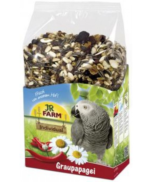 JR Farm Birds Individual African for Grey Parrots 950 g