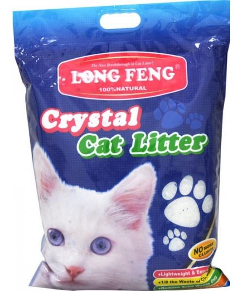 Long Feng silikoninis kraikas katėms  bekvapis 10L