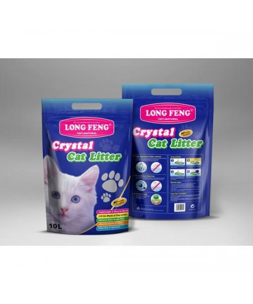 Long Feng silikoninis kraikas katėms 3 x 10L