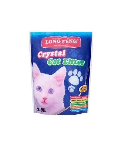 Long Feng silikoninis kraikas katėms bekvapis 3,8L