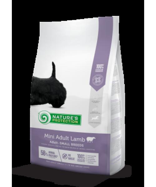 Nature's Protection Mini Adult Lamb Small breed dog pašaras šunims 2 kg