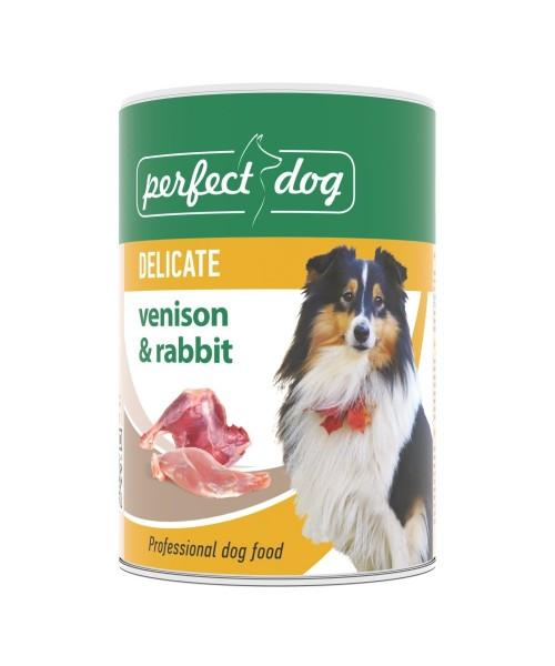 Perfect dog- DELICATE- Briediena & Triušiena 400g