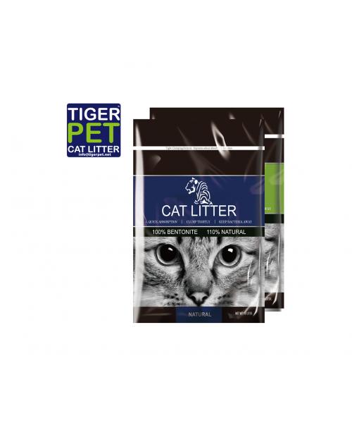 Tiger Pet bentonitinis kraikas katėms bekvapis 10 L