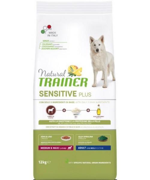 Trainer Dog Sensitive Plus Medium&Maxi Horse 12kg