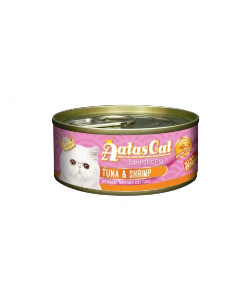 Aatas konservas katėms Tantalizing Tuna & Shrimp 80g